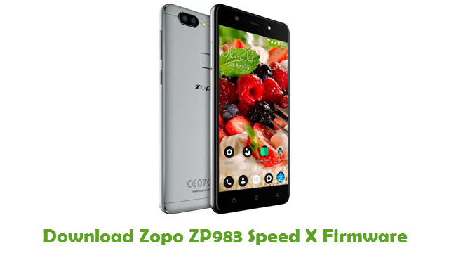 Download Zopo ZP983 Speed X Firmware