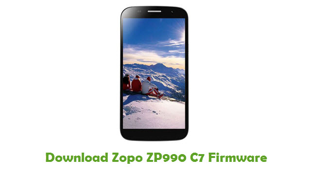 Download Zopo ZP990 C7 Firmware