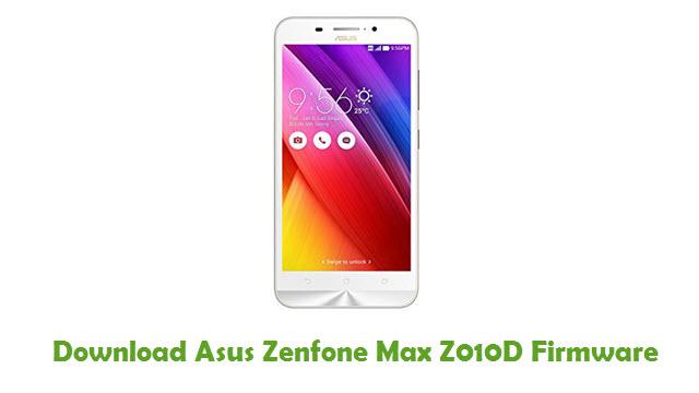 Download Asus Zenfone Max Z010D Stock ROM