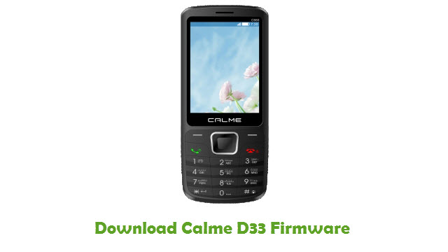 Download Calme D33 Firmware
