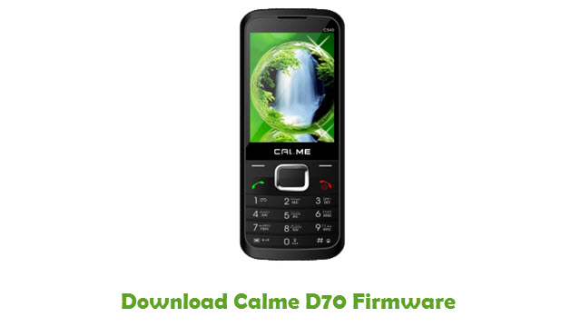 Download Calme D70 Firmware