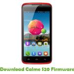 Calme S20 Firmware