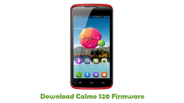 Download Calme S20 Firmware
