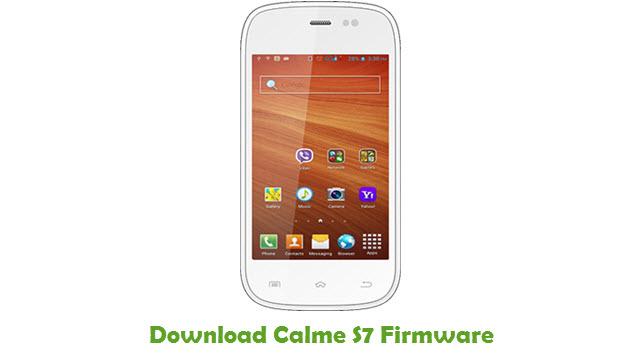 Download Calme S7 Firmware