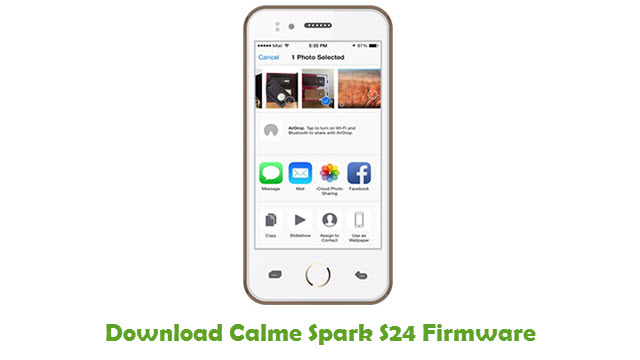 Download Calme Spark S24 Firmware