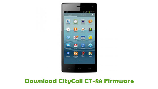 Download CityCall CT-88 Firmware