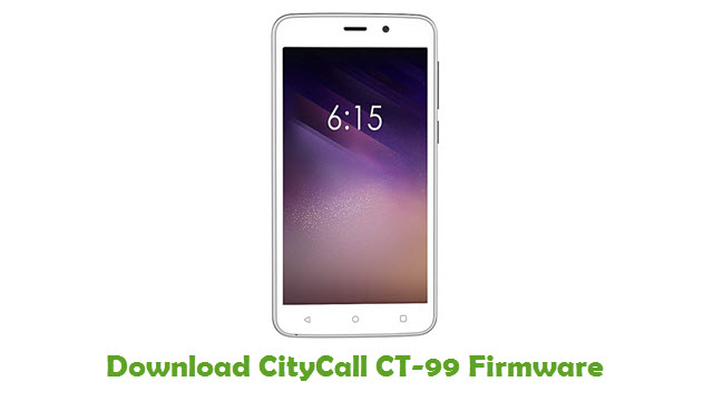 Download CityCall CT-99 Firmware