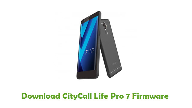Download CityCall Life Pro 7 Firmware