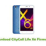 CityCall Life X6 Firmware