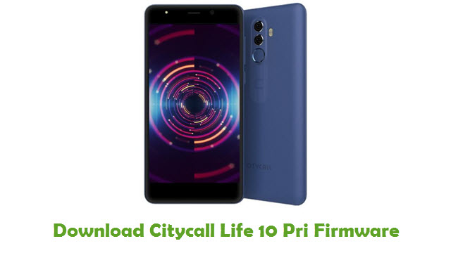 Download Citycall Life 10 Pri Firmware