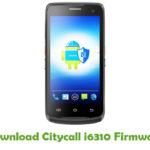 Citycall i6310 Firmware