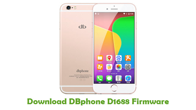 Download DBphone D1688 Stock ROM