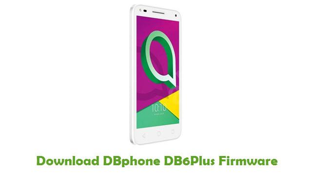 Download DBphone DB6Plus Stock ROM