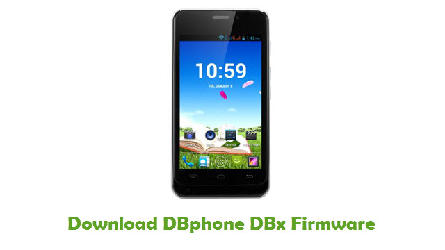 DBphone DBx Stock ROM
