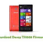 Desay TS1008 Firmware
