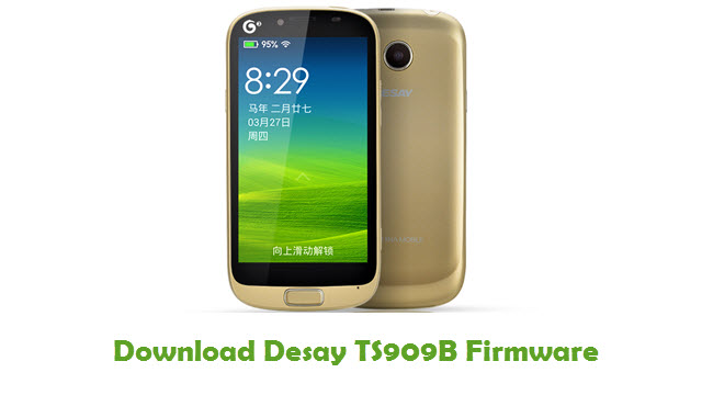 Desay TS909B Stock ROM
