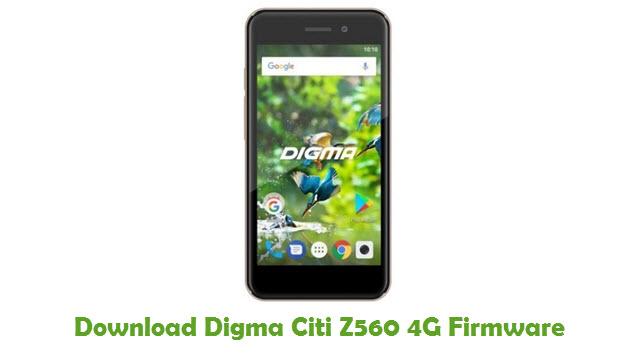 Digma Citi Z560 4G Stock ROM