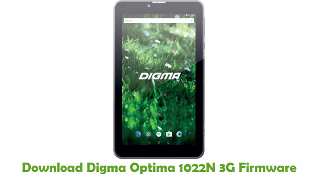 Digma Optima 1022N 3G Stock ROM