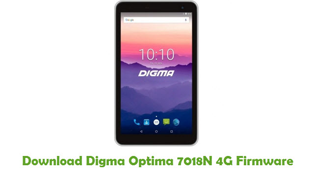 Download Digma Optima 7018N 4G Stock ROM
