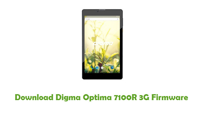 Digma Optima 7100R 3G Stock ROM