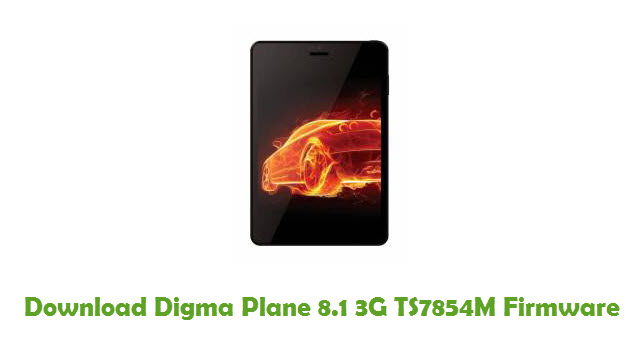 Download Digma Plane 8.1 3G TS7854M Stock ROM