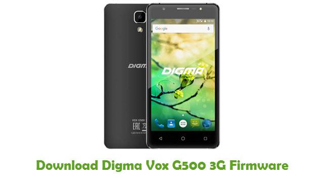Digma Vox G500 3G Stock ROM