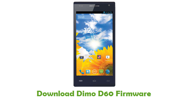 Dimo D60 Stock ROM