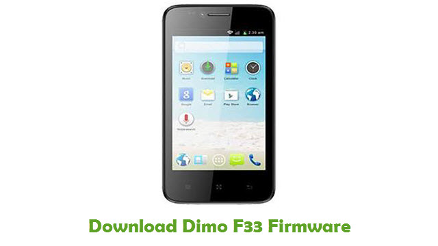Dimo F33 Stock ROM