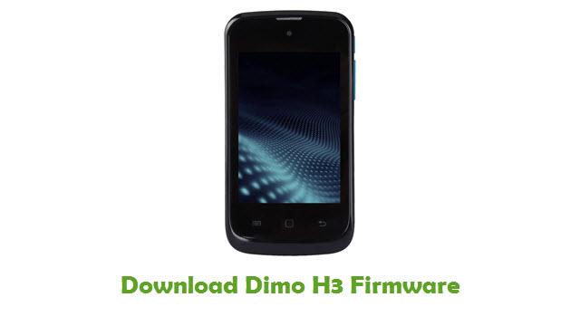 Dimo H3 Stock ROM