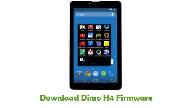 Dimo H4 Stock ROM