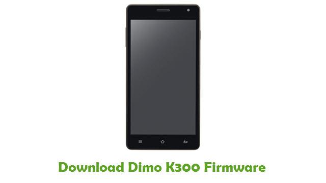 Dimo K300 Stock ROM