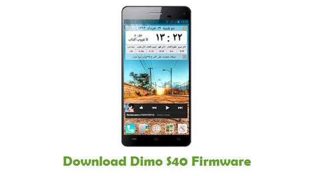 Dimo S40 Stock ROM