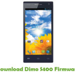 Dimo S400 Firmware
