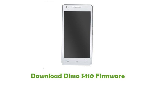 Dimo S410 Stock ROM