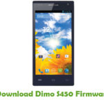 Dimo S450 Firmware