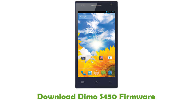 Download Dimo S450 Stock ROM