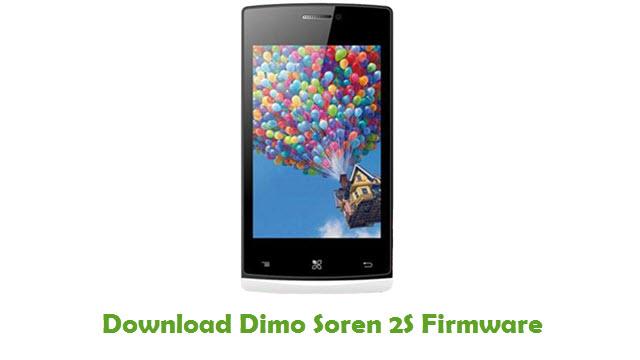 Dimo Soren 2S Stock ROM