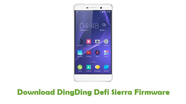 DingDing Defi Sierra Stock ROM