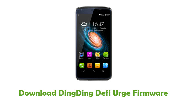 DingDing Defi Urge Stock ROM