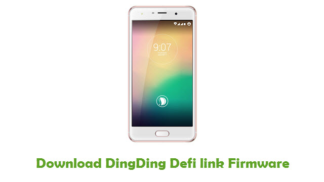 Download DingDing Defi link Stock ROM