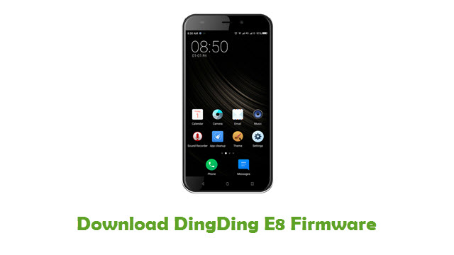 Download DingDing E8 Stock ROM