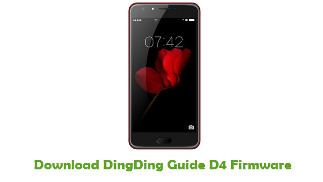 DingDing Guide D4 Stock ROM