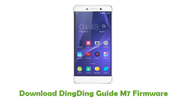 Download DingDing Guide M7 Stock ROM