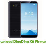 DingDing X11 Firmware