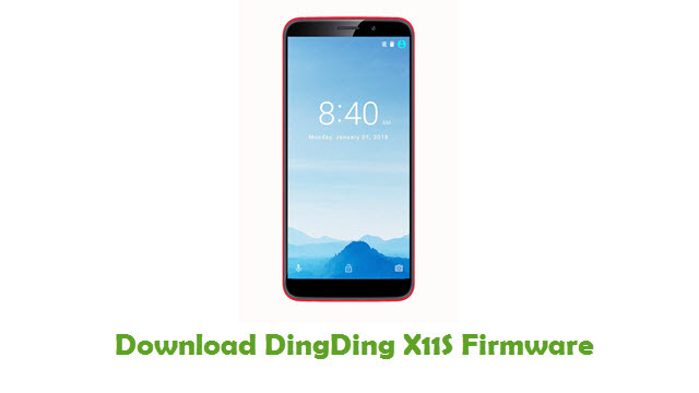 Download DingDing X11S Stock ROM
