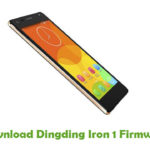 Dingding Iron 1 Firmware