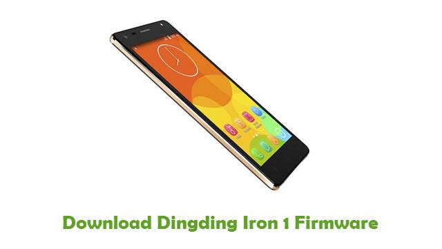 Dingding Iron 1 Stock ROM