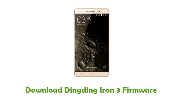Dingding Iron 3 Stock ROM