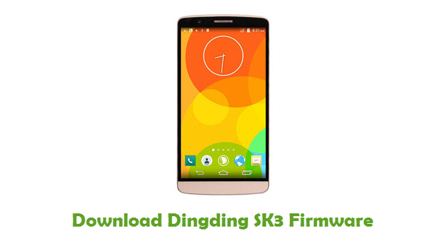 Dingding SK3 Stock ROM