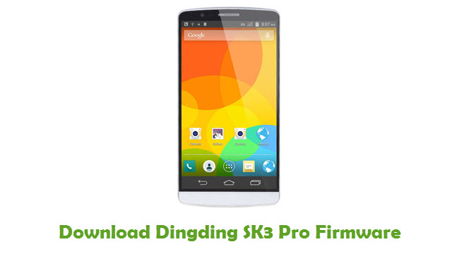 Dingding SK3 Pro Stock ROM